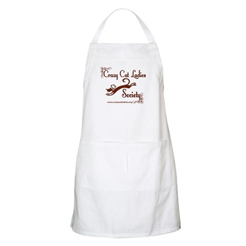 - Elegant CCLS Logo Cat Apron by CafePress