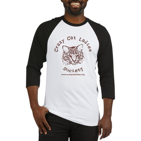 - Sporty CCLS Logo Cat Baseball Jersey by CafePress
