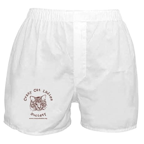 - Sporty CCLS Logo Cat Boxer Shorts by CafePress