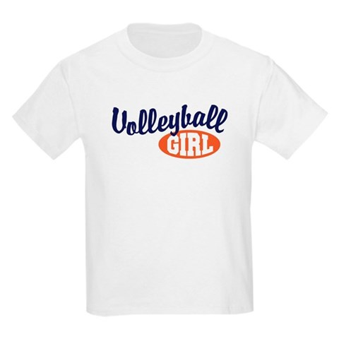 Product Image of Volleyball Girl Kids T-Shirt