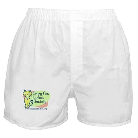 - Official CCLS Logo Cat Boxer Shorts by CafePress
