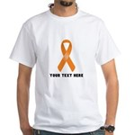 Orange Awareness Ribbon Customized Shirt