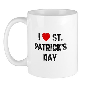I Love  St. Patrick's Day Mug