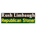 Stoner Rush Limbaugh Bumper Sticker
