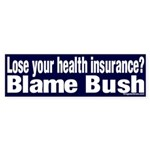 Health Insurance Bush Sticker (Bumper)