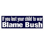 Lost Child Bush Sticker (Bumper)