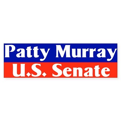Re-elect Patty Murray Bumper Sticker