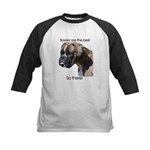 Boxers are the Best Brindle u Kids Baseball Jersey