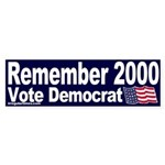 Remember 2000 Sticker (Bumper)