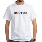 I Love (Heart) Vampires T-shirt