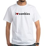 I Love (Heart) Zombies T-shirt