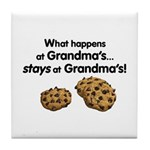 What happens at Grandma's stays at Grandma's! The perfect pact to make with grandkids.