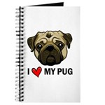I Heart My Pug Journal