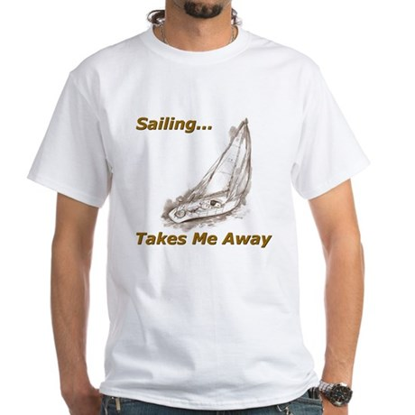 Sailing T-Shirt and Products White T-Shirt