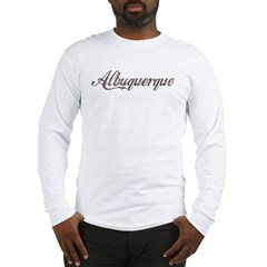 Vintage Albuquerque Long Sleeve T-Shirt