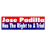Jose Padilla Trial Sticker (Bumper)