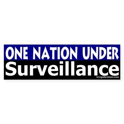 One Nation Under Surveillance (sticker)