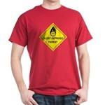 Red Sleep Deprived Parent T-shirt