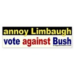 Annoy Rush Limbaugh Sticker (Bumper)