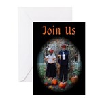 Halloween / Autumn Gathering Invitations