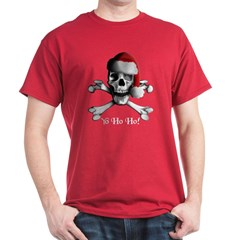 Christmas Pirate Dark T-Shirt