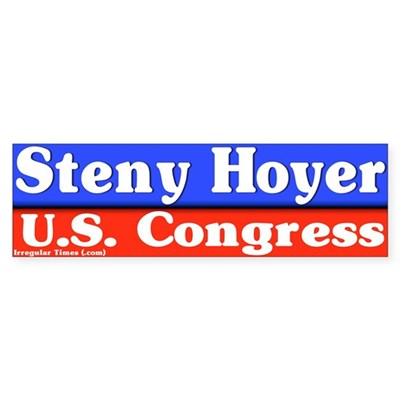 Steny Hoyer Bumper Sticker