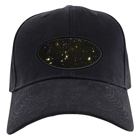10,000 Galaxies Universe Core  Science Black Cap by CafePress