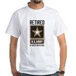 US Army Retired Watch Never Ends Shirt