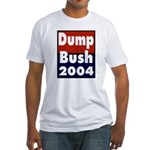 Dump Bush Fitted T-shirt (Made in the US