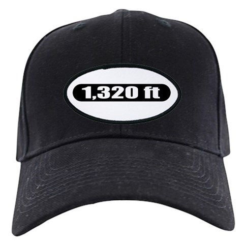 1,320 ft  Hobbies Black Cap by CafePress
