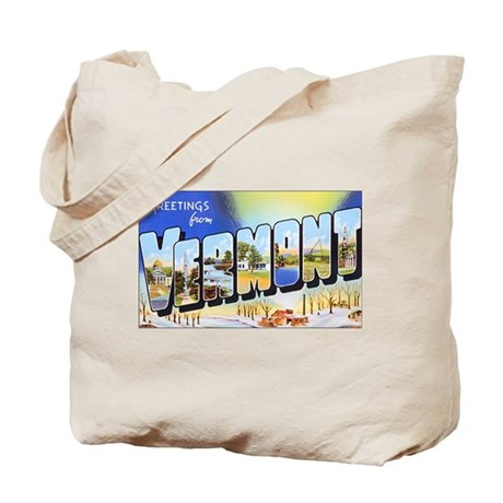 Vermont Greetings Tote Bag