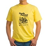 Dearly Departed Yellow T-Shirt