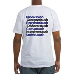 Bush Words Sweat-Free T-shirt