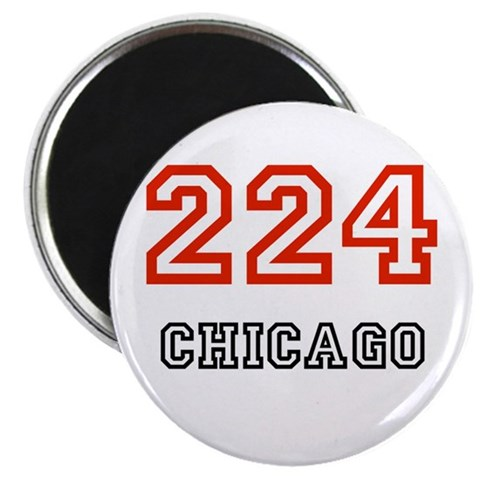 224  Chicago 2.25 Magnet 100 pack by CafePress