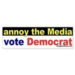 Annoy the Media Sticker (Bumper)