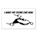 I want my flying car now. It's way past the year 2000. You promised. They showed them on the Jetsons!
