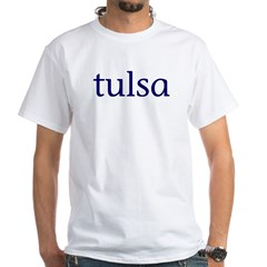 Tulsa White T-Shirt