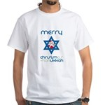 Christ()mukkah White T-shirt