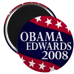 Obama-Edwards 2008 2.25 Magnet (10 pack)