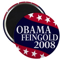 Obama-Feingold 2.25 Magnet (10 pack)