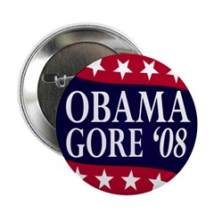 Obama-Gore '08 2.25 Button (10 pack)