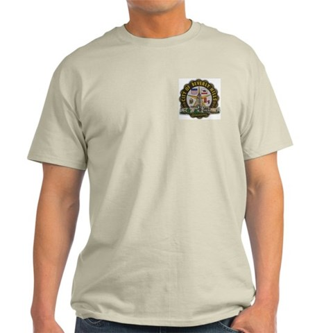 Beverly Hills California Ash Grey T-Shirt California Light T-Shirt by CafePress