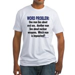 Word Problem T-shirt (Made in the USA)