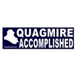 Quagmire Accomplished Sticker (Bumper)