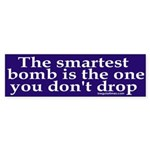 The Smartest Bomb Sticker (Bumper)