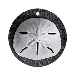 San Dollar (B&W) Ornament (Round)