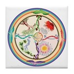 Fifth Chakra Tile Coaster