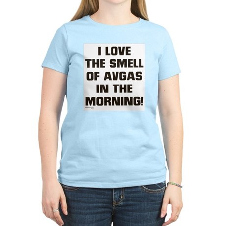 THE SMELL OF AV GAS Women's Light T-Shirt