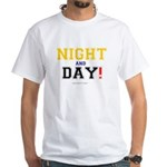 NIGHT AND DAY - ASS ABOUT FACE! T-Shirt