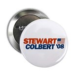 Stewart / Colbert '08 Button